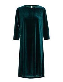 IBEN Kobi Dress St Polvipituinen Mekko Vihreä IBEN PINE GREEN