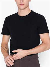 Selected Homme Slhnewpima Ss O-Neck Tee B Noos T-paidat ja topit Musta