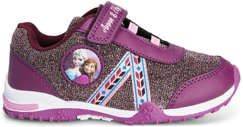 Disney Frozen Vilkkuvat Tennarit Burgundy 25