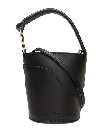 ATP Atelier Sava Bags Small Shoulder Bags - Crossbody Bags Musta ATP Atelier BLACK