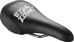 Reverse Nico Vink Shovel & Shred Saddle, black/white