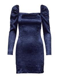 Samsä¸e & Samsä¸e Nomie Dress 12734 Polvipituinen Mekko Sininen Samsä¸e & Samsä¸e BLUE DEPTHS