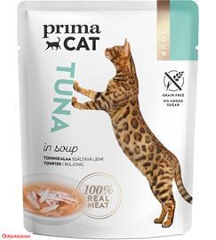 PrimaCat Soups Tonnikalaa liemessä 40 g