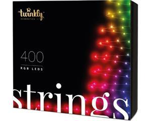Twinkly Strings 400 LEDs Multicolor, sovellusohjattava koristevalosarja RGB, IP44