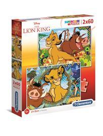 Clementoni 2x60 pcs. Puzzles Kids Special Collection Lion King