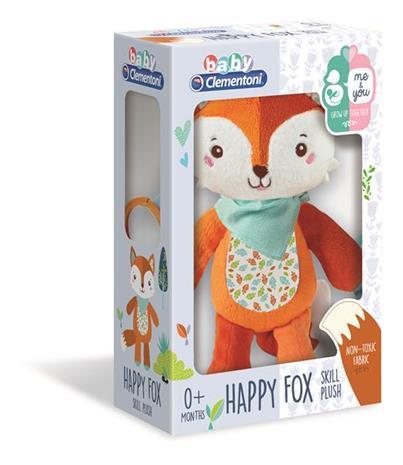 Clementoni First Month Fox Skill Plush -INT