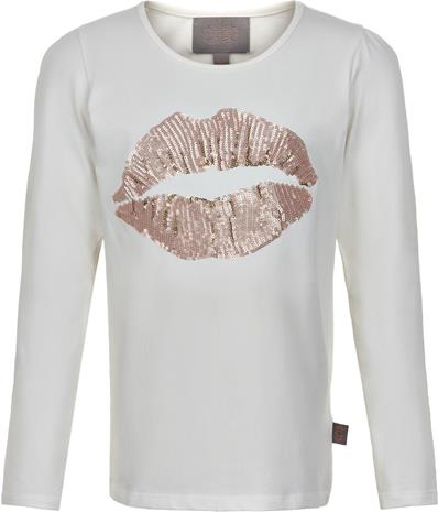 Creamie Sequin T-Paita, Rose Smoke 128
