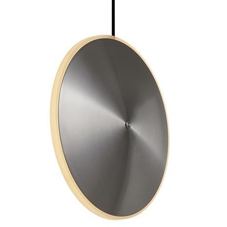 Graypants Chrona Dish10v Pendant, Steel