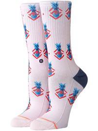 Stance Polka Pineapple Socks lilacice Naiset