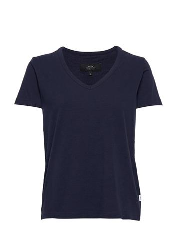 Makia Coast T-Shirt T-shirts & Tops Short-sleeved Sininen Makia DARK NAVY