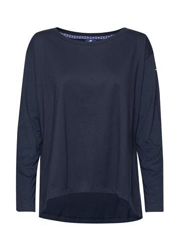 Champion Long Sleeve T-Shirt T-shirts & Tops Long-sleeved Sininen Champion BLACK IRIS