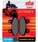 SBS 23-638HS Sintered Kaw/Suz/Tri eteen jarrupalat