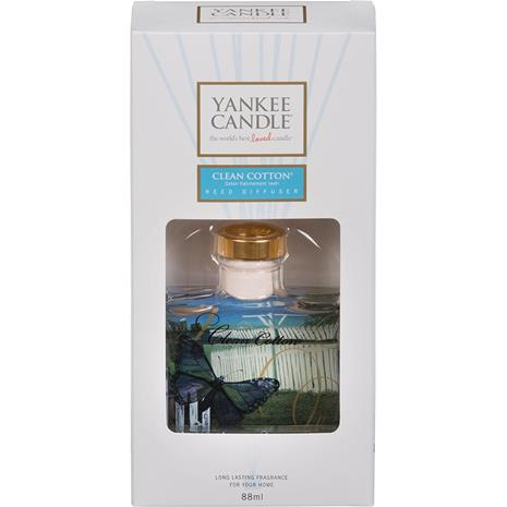 Yankee Candle Clean Cotton - Reed Diffuses 88 ml