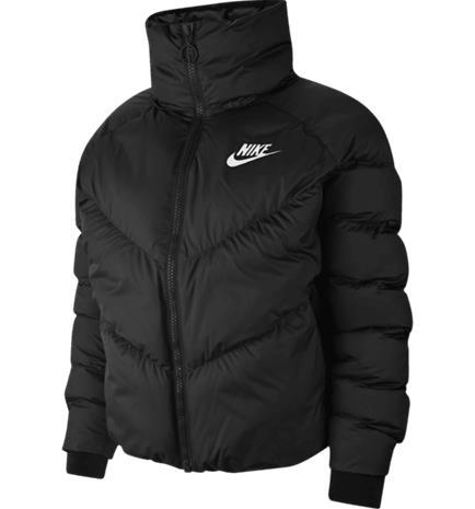Nike W NSW SYN FILL JKT STMT BLACK/WHITE