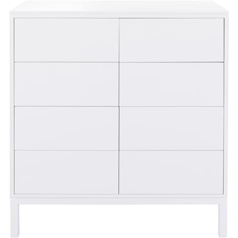Englesson Edge Cabinet 8 Drawers 86x38x89, White