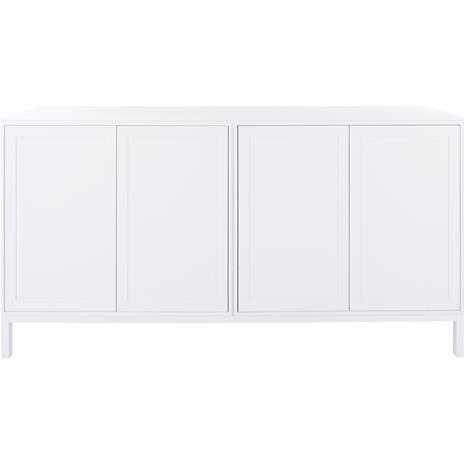 Englesson Edge Cabinet 4 Doors 172x38x89, White