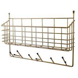 Maze Maze-Middle Shelf S, Brass