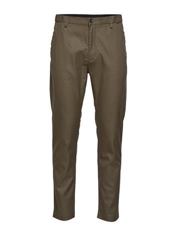 Calvin Klein Tapered Elastic Twill Pant Chinot Housut Calvin Klein DARK OLIVE