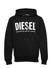 Diesel Men S-Gir-Hood-Division-Logo Felpa Swea Huppari Musta Diesel Men BLACK
