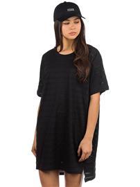 Dedicated Alta Lace Jersey Dress black Naiset
