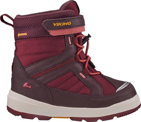Viking Footwear Playtime GTX Talvisaappaat Lapset, wine/dark red
