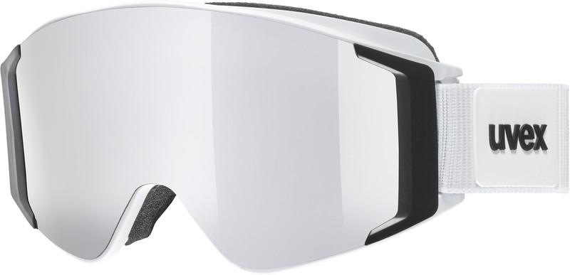 UVEX g.gl 3000 TO Uimalasit, white mat/fullmirror silver