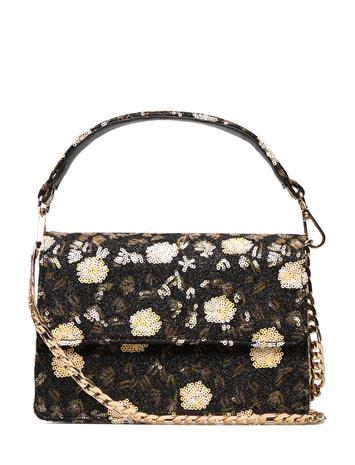 BECKSä–NDERGAARD Turi Maik Bag Bags Small Shoulder Bags - Crossbody Bags Musta BECKSä–NDERGAARD YELLOW
