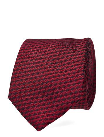 HUGO Tie Cm 6 Solmio Kravatti Punainen HUGO OPEN PINK