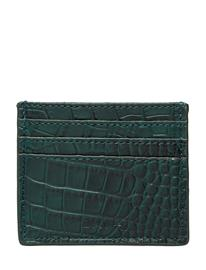 DAY et Day Card Croco Bags Card Holders & Wallets Card Holder Vihreä DAY Et EMERALD GREEN