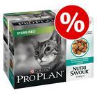 Purina Pro Plan Nutrisavour (3 x 850 g ) alennuksessa -20 % - Sterilised kalkkunaa hyytelössä