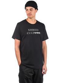 Rome Shred Cult T-Shirt black Miehet
