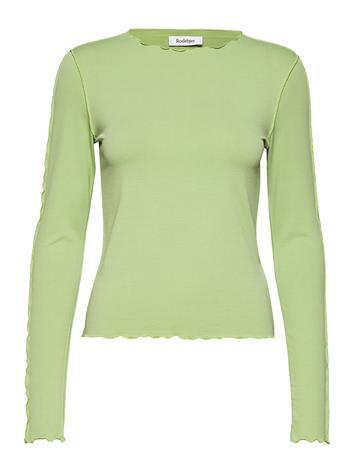 RODEBJER Ziggy T-shirts & Tops Long-sleeved Vihreä RODEBJER CACTUS