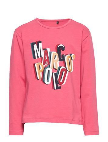 Marc O'Polo Junior Long Sleeve T-shirts Long-sleeved T-shirts Vaaleanpunainen Marc O'Polo Junior FRUIT DOVE-PINK