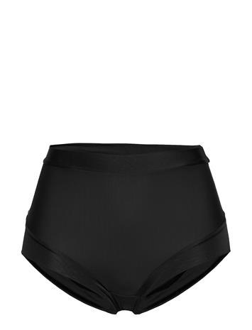 Lindex Girdle Brief Matt Shiny Light Maksihame Pitkä Hame-alushousut Musta Lindex BLACK