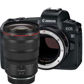 Canon EOS R (24-70mm + EF-EOS-R), järjestelmäkamera