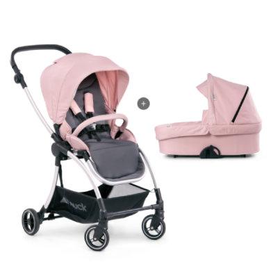 hauck Yhdistelmävaunut Eagle 4S Duoset Pink/Grey - roosa/pinkki