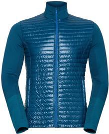 Odlo Engage Midlayer Full Zip Men, blue opal/lake blue