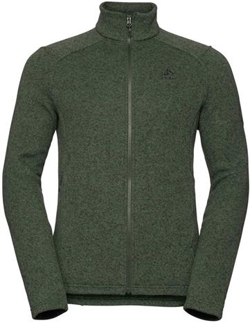 Odlo Lucma X Midlayer Full Zip Men, climbing ivy