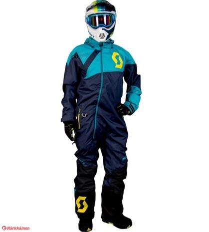 SCOTT Monosuit DS sininen kelkkahaalari
