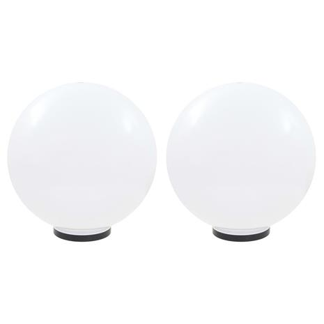 vidaXL LED-pallovalaisimet 2 kpl 50 cm akryyli