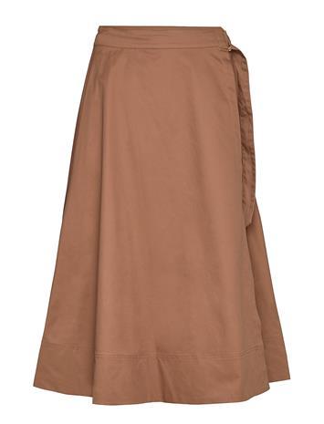Soft Rebels Cargo Hw Midi Skirt Polvipituinen Hame Liila Soft Rebels PARTRIDGE