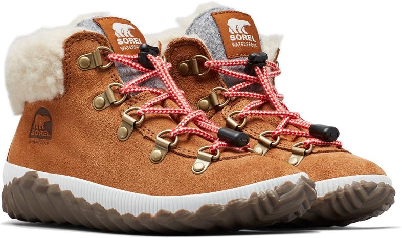 Sorel Youth Out N About Conquest Känga, Camel Brown/Quarry 33