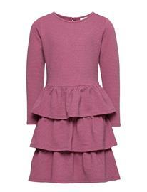 The New Filly L_s Dress Exp Mekko Punainen The New WINETASTING