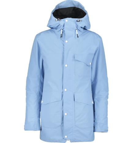 Warp U BROOKLAND JACKET LIGHT BLUE