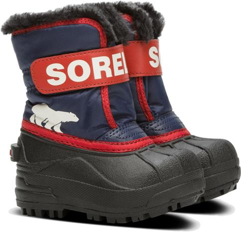 Sorel Children's Snow Commander Talvikengät, Nocturnal/Sail Red 22