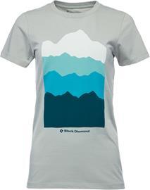 Black Diamond Vista T-paita Naiset, atmosphere