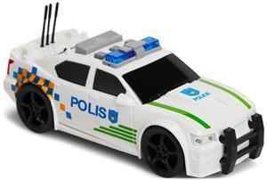 Alex's Garage Poliisiauto 1:20, Valkoinen/Vihreä