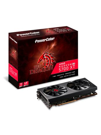 PowerColor Radeon RX 5700 XT Red Dragon 8 GB, PCI-E, näytönohjain