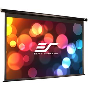 Elite Screens Electric 110H 16:9, valkokangas