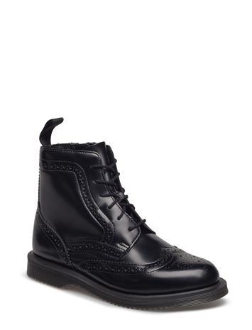 Dr. Martens Delphine Shoes Boots Ankle Boots Ankle Boots Flat Heel Musta Dr. Martens BLACK